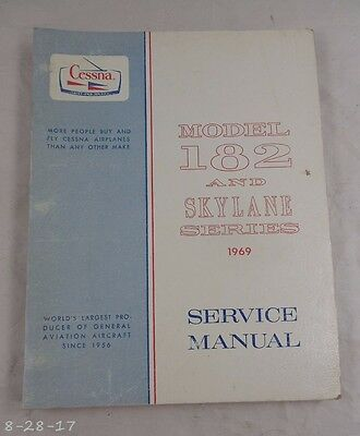 1969 Cessna Model 182 & Skylane Service Manual Catalog