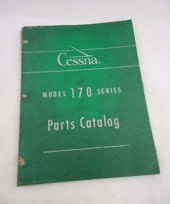 1958 Cessna 170 Series Parts Manual Catalog