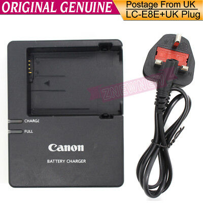 Genuine Original Canon LC-E8E Charger fr LP-E8 Battery 550D 600D 650D X4 T3iT2i