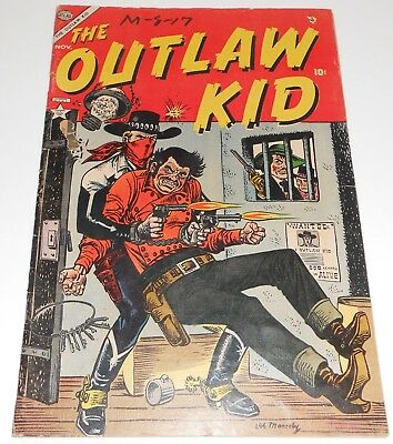 The Outlaw Kid #2 Volume One. Atlas 1954 Joe Maneely cover.  Good+. Ships BOXED