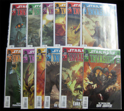 Star Wars Invasion #0 - 5 Rescues #1 - 6 Complete Set Dark Horse Comics lot CGC