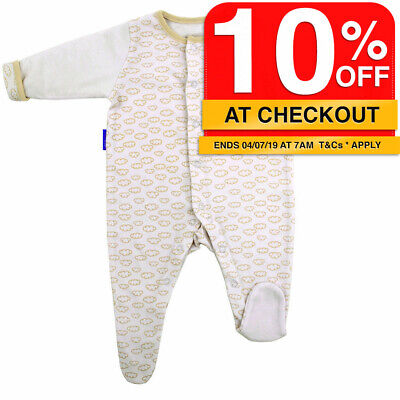 Gro Suit Baby Sleepsuit/Romper Warm Quilted Sleeves 0-3m/Size 000 Fluffy Clouds