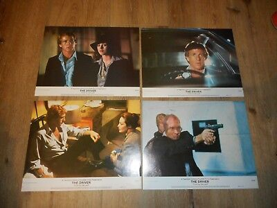 The Driver - Original Set Of 8 Lobby Cards - 1978 - Isabelle Adjani/walter Hill