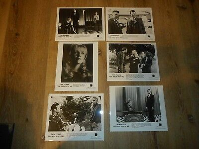 Twin Peaks: Fire Walk With Me - Set Of 6 Original Publicity Stills- Laura Palmer