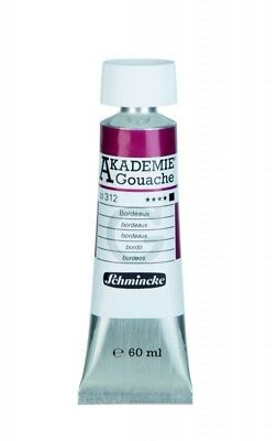 (6,92€/100ml) Schmincke AKADEMIE Gouache Bordeaux 60ml 22312011