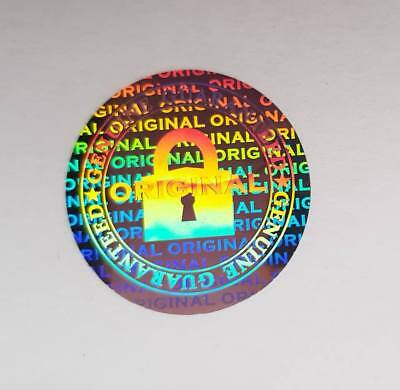 Hologram Label Sticker Warranty Void If Removed Tamper Proof Stickers Original