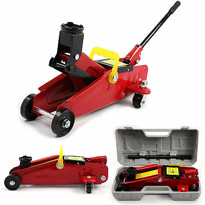 2 Ton Car Van Diy Tuv Gs Home Mechanic Hydraulic Trolley Jack 2000Kg Lifting New