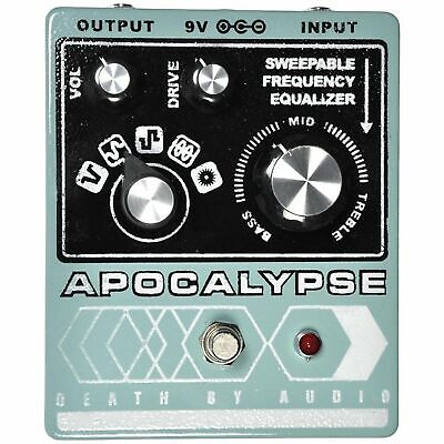 Death by Audio Apocalypse Fuzz / Distortion Guitar Effects Guitar Pedal