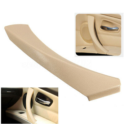Inner Right Door Panel Handle Outer Trim Cover For BMW 3-Series E90 Sedan Beige