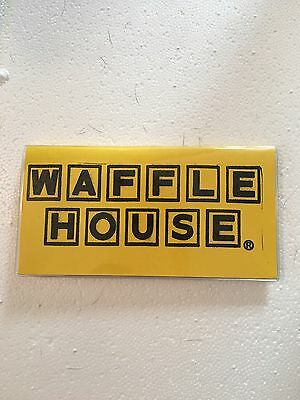 Waffle House Check Book Cover
