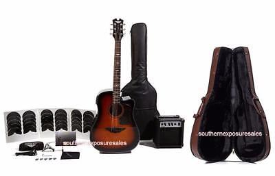 Keith Urban Acoustic-Electric Ripcord 44-pc Guitar Pkg Copper + Semi Hard Case