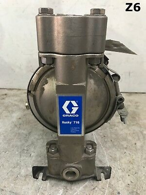Graco Husky D54331 716 Metal Air-Operated Double Diaphragm Pump