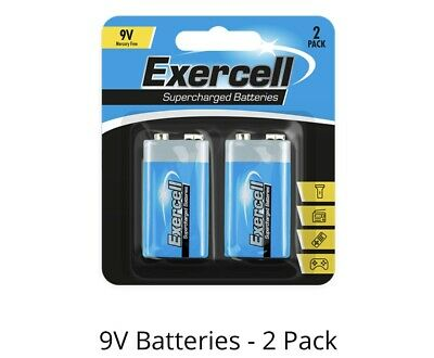 4 pack 2 X 9v PP3 Powercell heavy Duty Batteries Smoke Battery  MN1604 6LR61