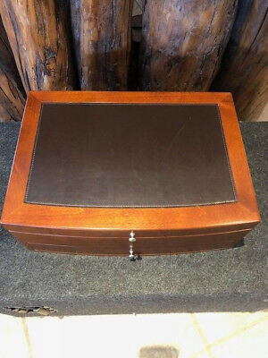 Silverware Storage Box with Drawer by Reed & Barton