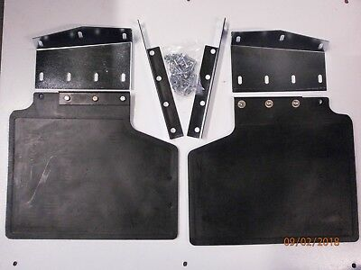 Front or Rear Rubber Mud Flaps Pair for Range Rover Classic MXC5587 x2