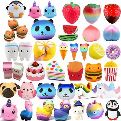 Jumbo Slow Rising Squishies Scented Squishy Squeeze Kawaii Collection Kids Lot