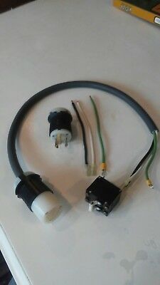 Clarke/American Super 8 interconnecting cable with new connectors/ switch