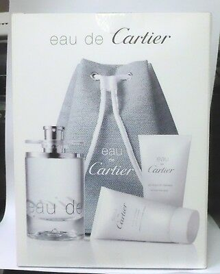 Cartier Eau de Cartier confezione regalo kit week end eau de toilette