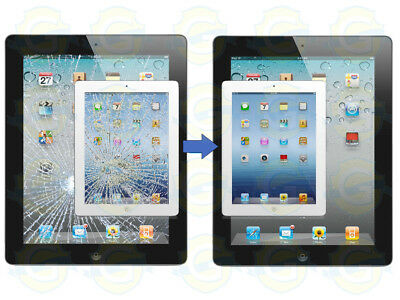 Apple iPad Air 1 Digitizer Glass Screen Replacement Service White or Black !!!