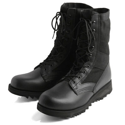 Rothco G.I. Type Ripple Sole Jungle Boots - Black - 5050