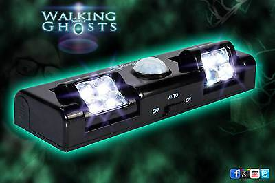 Auto Motion Sensor LED Nightlight Security Light Safety Paranormal Ghost Hunt UK