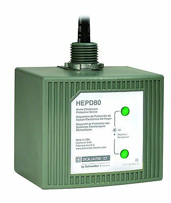 Square D Schneider Electric HEPD80 Home Electronics Surge Protective Device NEW