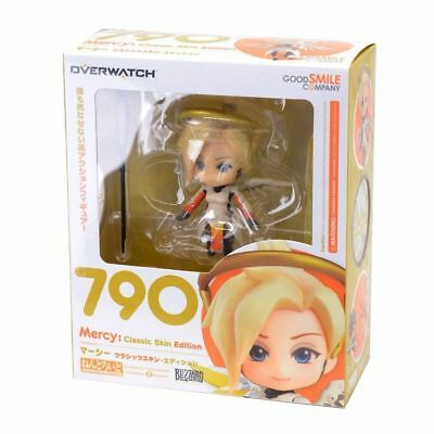 Good Smile Overwatch Mercy Classic Skin Edition Nendoroid Action Figure USA NEW