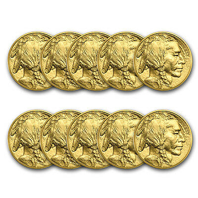 Bank Wire Payment. 2018 1 oz Gold Buffalo BU (Lot of 10) - SKU #162745