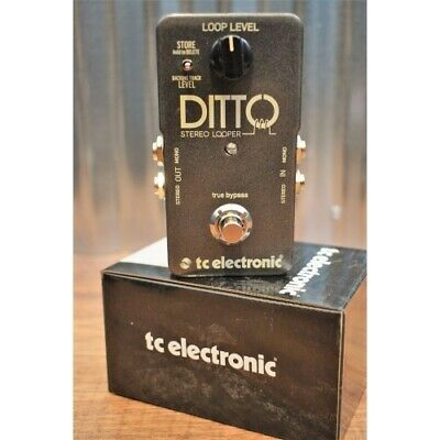 TC Electronic Ditto Stereo Looper Guitar & Bass Effect Pedal