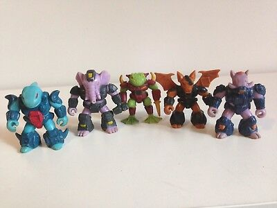 Genuine G1 Vintage Hasbro/takara 1980S Battle Beasts Lot