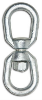 "Campbell T9630635 Eye To Eye Swivel, 3/8"", Galvanized"