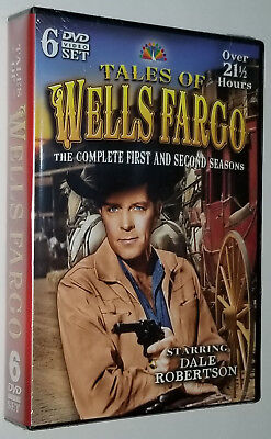 Tales of Wells Fargo Complete Season Series One 1 & Two 2 - DVD Box Set SEALED