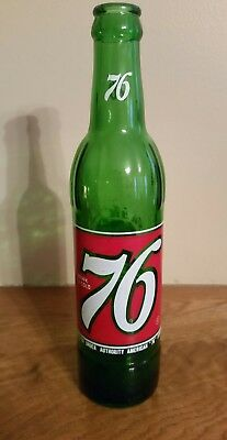 Vintage 76 SODA / POP BOTTLE 10 oz.:  Property of Coca-Cola Bottling