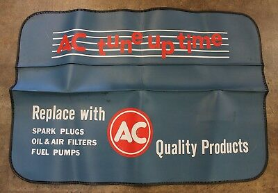 Vintage AC Delco Fender Mat Cover - Quality Parts - Tune Up Time