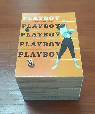 1995 Playboy Centerfold Collector Cards March Edition set of 123 trading cards