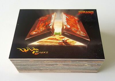 1995 Skybox Jumanji complete common base set of 90 cards mint