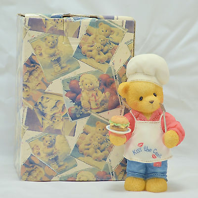 """Enesco Cherished Teddies """"Dennis"""" You Put The Spice In My Life"""" Chef - #510963"""