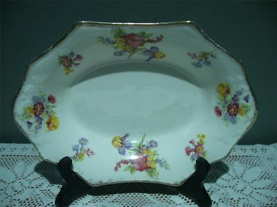 Pretty James Kent England Small Vintage Serving Bowl - Floral - Good Cond