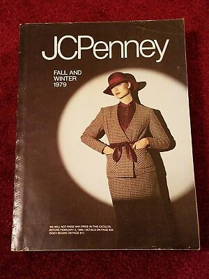 Vintage 1979 JC PENNEY fall-winter Catalog - Original - Great Condition,JcPenney