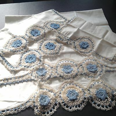 Finest / Antique Heirloom / Tatted~Tatting / Lace Pillowcases & Scarves / Mint