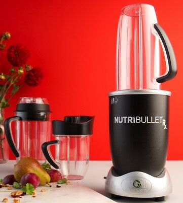 NEW NUTRIBULLET N17-1007M RX 1700W 10 Piece Set