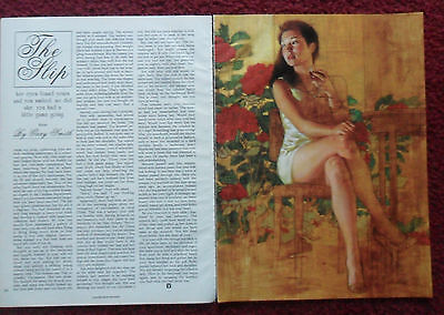 1992 Magazine Short Story 'The Slip' by Gary Smith w/ John Rush Art