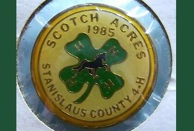 1985 Scotch Acres -Stanislaus County,CA .............4-H Equestrian Pin
