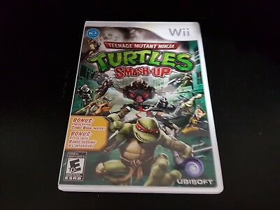 Teenage Mutant Ninja Turtles: Smash-Up [Wii] [Nintendo Wii] [2009] [Complete!]