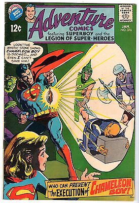 Adventure Comics #376 - Superboy & The Legion of Super-Heroes, Fine Condition!