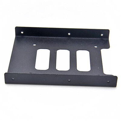 """Metal Mounting SSD HDD 2.5"""" To 3.5"""" Hard Drive Holder Bracket Dock Adapter"""