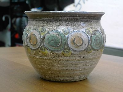 "Rare Denby 1960's Small 3 7/8"" Tall Planter  In Excellent Con FREE UK POSTAGE"