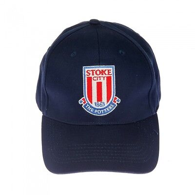 d25a2974495ce Stoke City Essential Cap - Navy - One Size