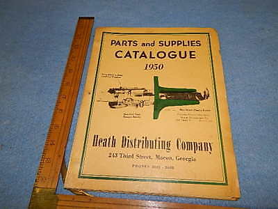 1950 Heath Distributing Parts and Supplies Catalogue - 74 pages
