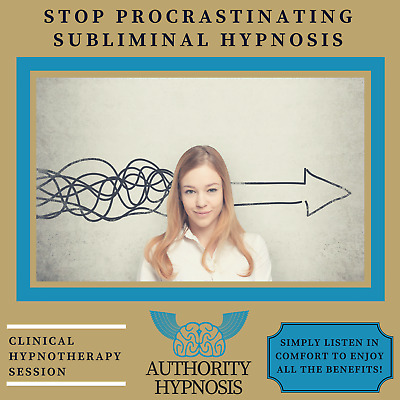 Stop Procrastination Hypnosis, Unlimited Motivation, Achieve Successful Goals